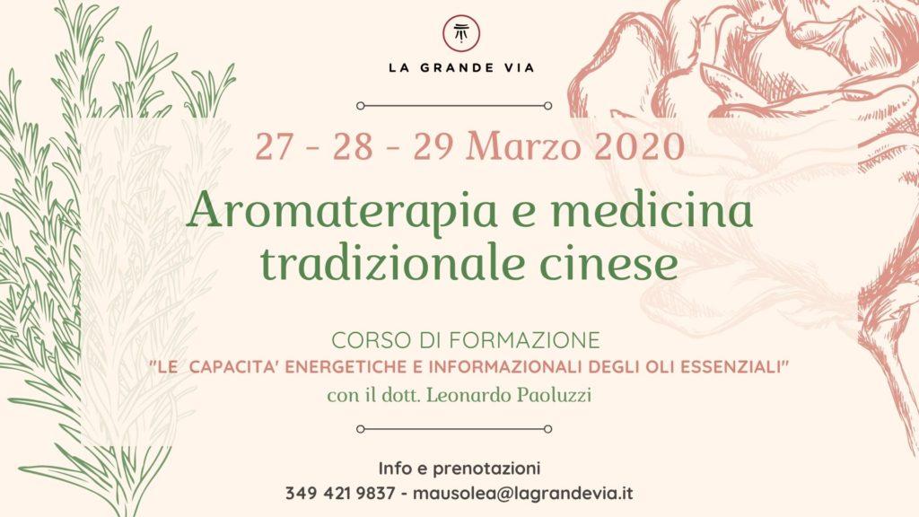 Aromaterapia e Medicina Tradizionale Cinese