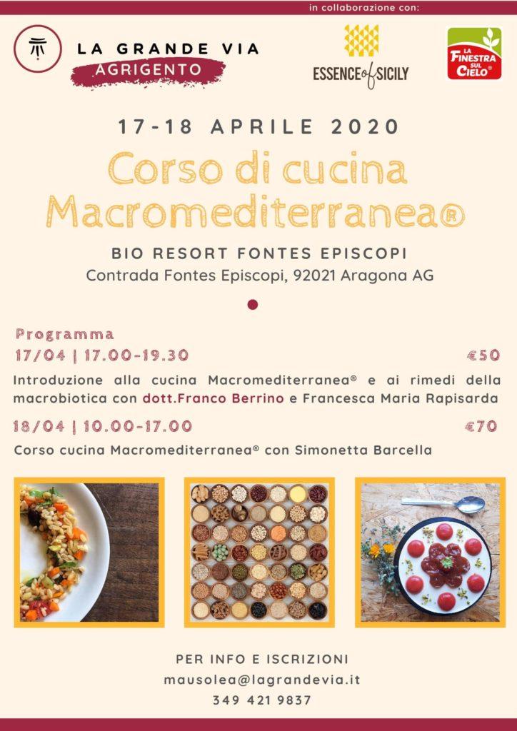 Corso di cucina Macromediterranea®