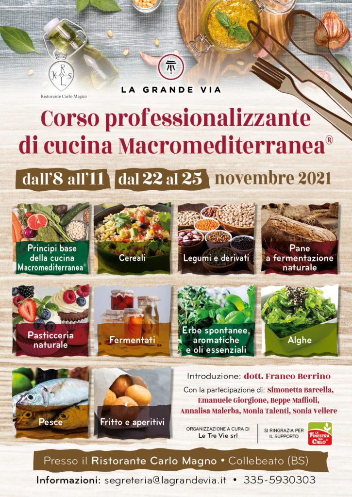 Corso professonalizzante di cucina Macromediterranea®