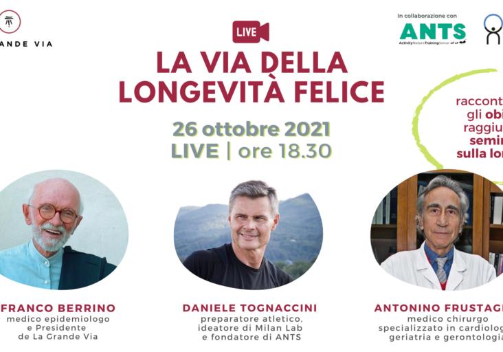 Locandina_La Via della Longevità felice (Post di Instagram) (Copertina per eventi di Facebook) (2160 x 1080 px) (1)